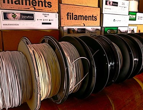 Manuale sui filamenti per stampa 3D