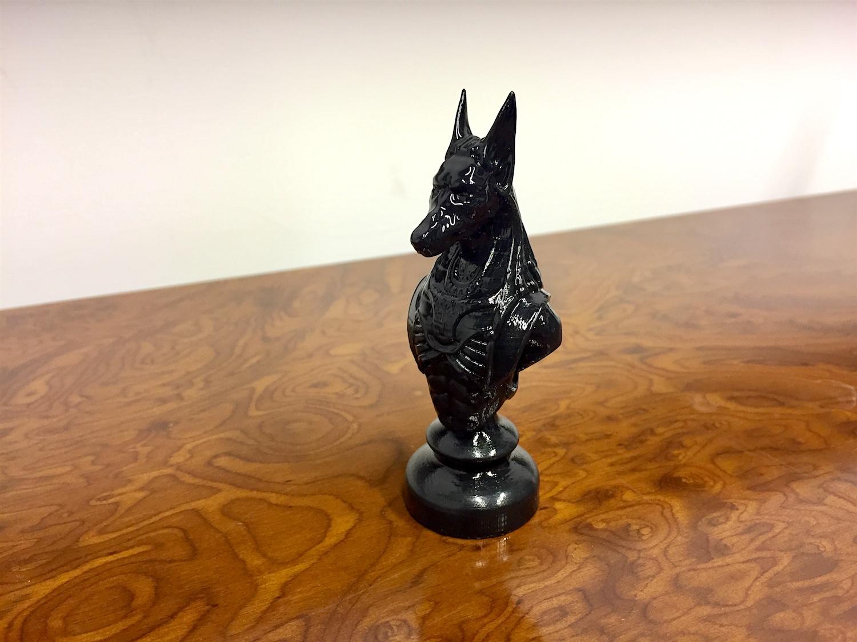 Anubis stampato un 3D con polysmooth