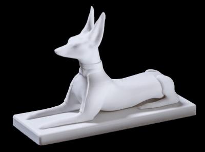 Modello Anubis stampato in 3D a 20 Micron