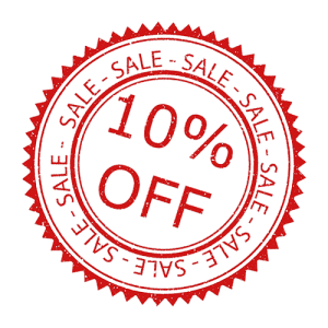 Sconto 10%