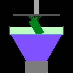 Stampa 3d a resina raggi UV