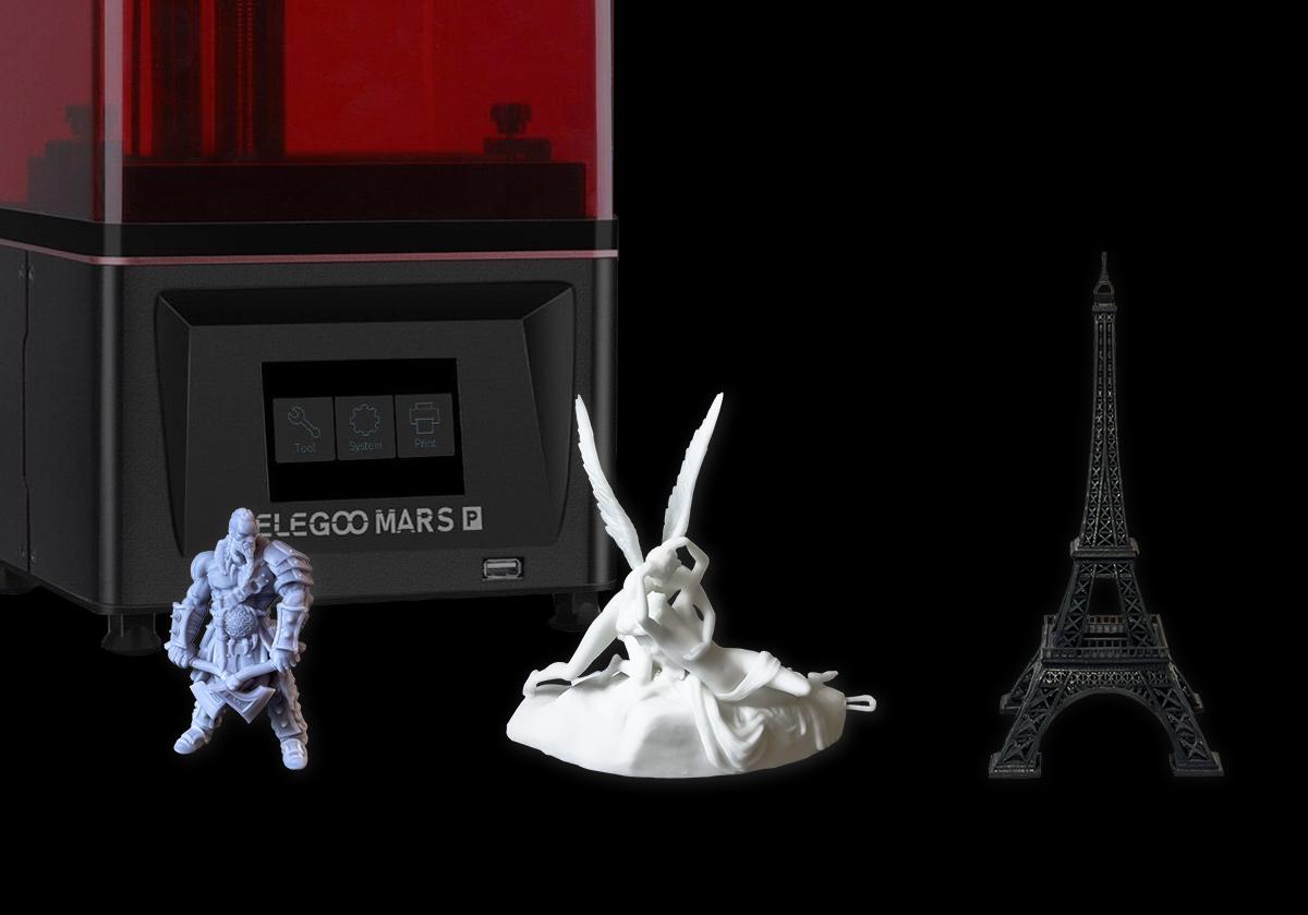 Stampa 3d a resina con Elegoo Mars Pro