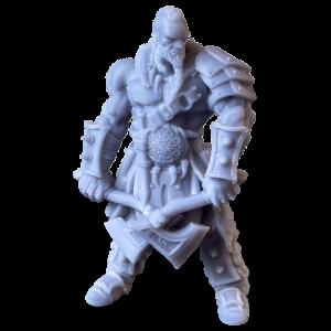 Modello stampato in resina con Elegoo Mars Pro 2