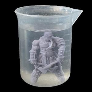 Lavaggio resina modello 3D