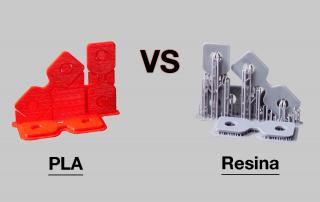 PLA vs Resina